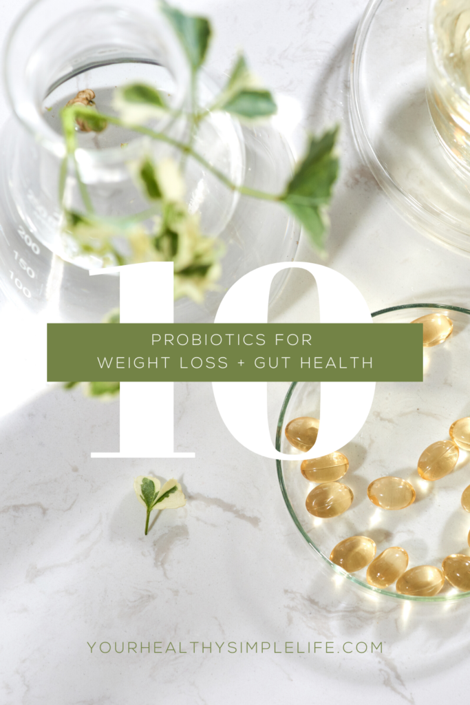 probiotics for weight loss, gut health